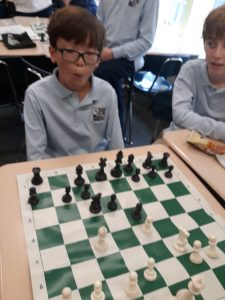 Chess Class at The Grace Church Middle School